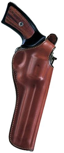 """Bianchi 12696 Cyclone Tan Leather Belt 6"""" Colt/Ruger/S&W & Similar L Frame Right Hand Crossdraw"""