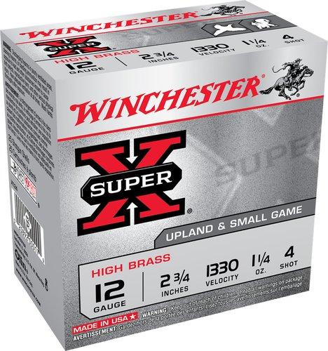 """Winchester Ammo X413H85 Super X High Brass 410 Gauge 3"""" 3/4 oz 8.5 Shot 25 Bx"""