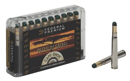 Federal P470WH Premium Safari Cape-Shok 470 Nitro Express 500 gr Woodleigh Hydro Solid (WHCS) 20 Bx