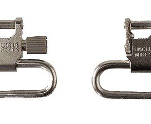 """Uncle Mikes 10022 Super Swivel Nickel 1"""" QD"""