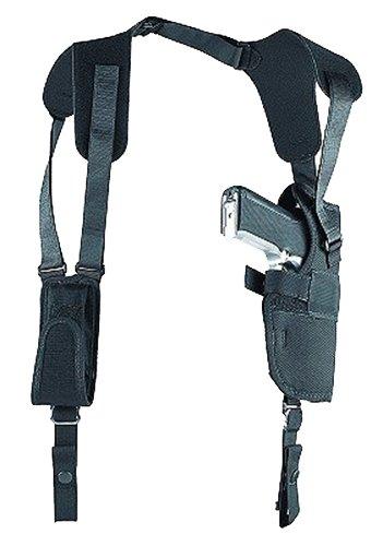 """Uncle Mikes 83152 Sidekick Vertical Shoulder LH 3.75-4.5"""" Lg Auto Nylon Black"""