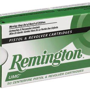Remington Ammunition 23724 UMC 38 Special 158 gr Lead Round Nose (LRN) 50 Bx