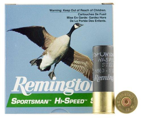 """Remington Ammunition 20981 Sportsman 12 Gauge 3"""" 1 1/8 oz 4 Shot 25 Bx"""