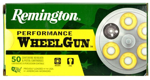 Remington Ammunition 22223 Performance WheelGun 357 Mag 158 gr Lead Semi-Wadcutter (LSWC) 50 Bx