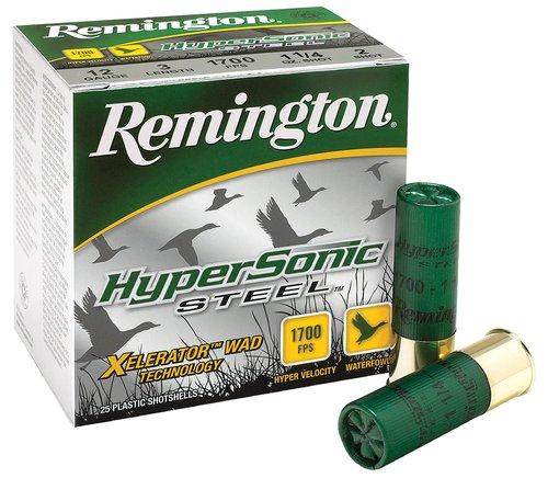 "Remington Ammunition 26793 HyperSonic 12 Gauge 3.5"" 1 3/8 oz BB Shot 25 Bx"