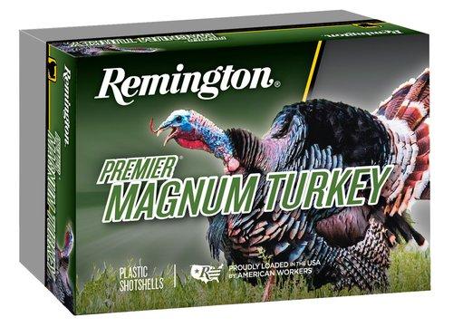 """Remington Ammunition 26833 Premier Magnum Copper-Plated 12 Gauge 3.5"""" 2 1/4 oz 4 Shot 5 Bx"""