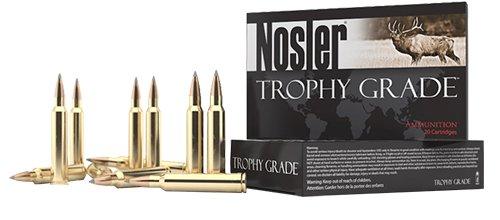 Nosler 60108 Trophy Grade Long Range 7mm Rem Mag 168 gr AccuBond Long Range 20 Bx