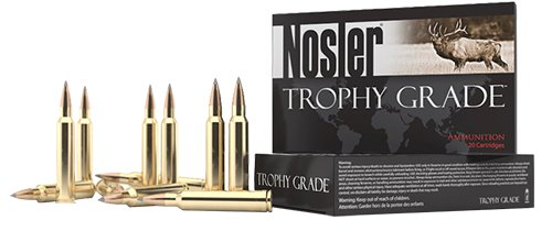Nosler 60114 Trophy Grade Long Range 270 WSM 150 gr AccuBond Long Range 20 Bx