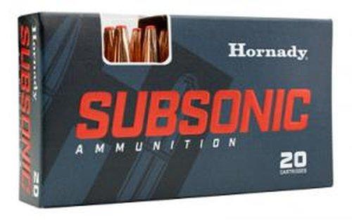 Hornady 80809 Subsonic 30-30 Win 175 gr Sub-X 20 Bx