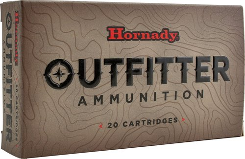 Hornady 82212 Outfitter 300 Wthby Mag 180 gr GMX 20 Bx