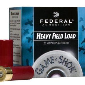 """Federal H2896 Game-Shok Upland Hi-Brass 28 Gauge 2.75"""" 1 oz 6 Shot 25 Bx"""