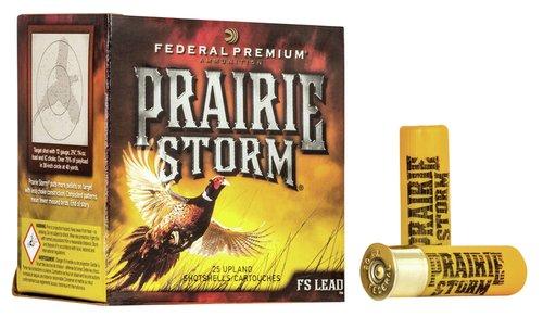 "Federal PFX164FS6 Prairie Storm 16 Gauge 2.75"" 1 1/4 oz 6 Shot 25 Bx"