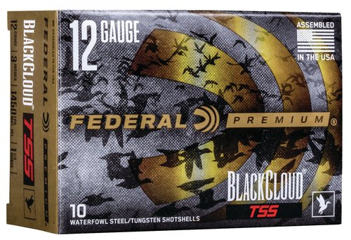 "Federal PWBTSSX14239 Black Cloud TSS 12 Gauge 3"" 1 1/4 oz 3,9 Shot 10 Bx"