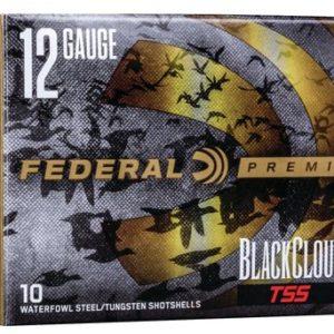 "Federal PWBTSSX1427B Black Cloud TSS 12 Gauge 3"" 1 1/4 oz 7/BB Shot 10 Bx"