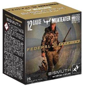 "Federal PBIX1374 Premium Bismuth 12 Gauge 3"" 1 3/8 oz 4 Shot 25 Bx"