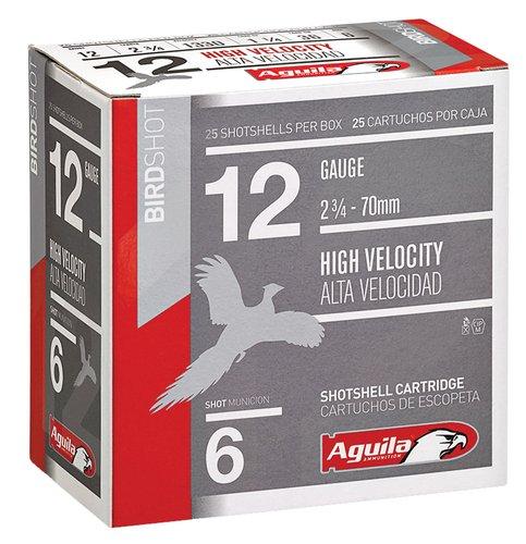 "Aguila 1CHB1206 Field 12 Gauge 2.75"" 1 1/4 oz 6 Shot 25 Bx"