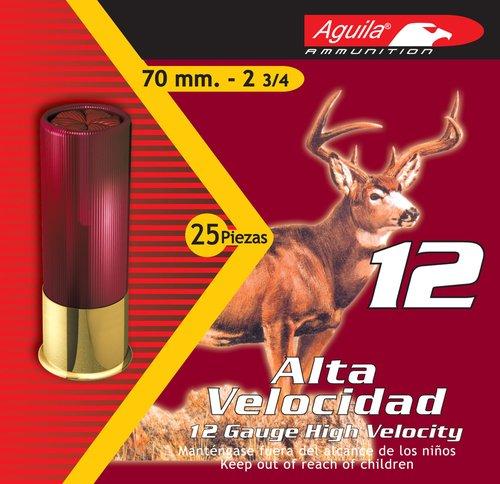 "Aguila 1CHB1208 Field 12 Gauge 2.75"" 1 1/4 oz 8 Shot 25 Bx"