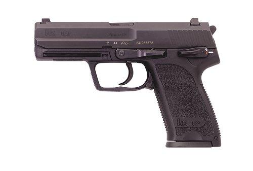 """HK 81000310 USP V1 9mm Luger 4.25"""" 10+1 (2) Black Black Steel Slide Black Polymer Grip"""
