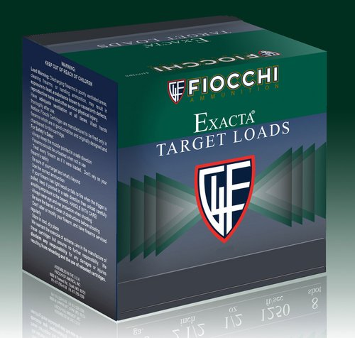 "Fiocchi 12CRSR75 Exacta Target Crusher 12 Gauge 2.75"" 1 oz 7.5 Shot 25 Bx"