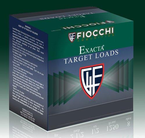 "Fiocchi 12CRSR8 Exacta Target Crusher 12 Gauge 2.75"" 1 oz 8 Shot 25 Bx"
