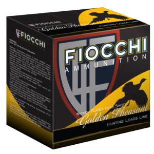 """Fiocchi 28GP75 Golden Pheasant 28 Gauge 2.75"""" 7/8 oz 7.5 Shot 25 Bx"""