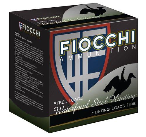 """Fiocchi 123ST6 Speed Steel 12 Gauge 3"""" 1 1/8 oz 6 Shot 25 Bx"""