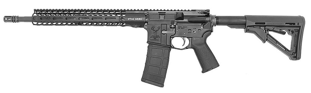 """Stag Arms 15010122 Stag 15 Tactical 5.56x45mm NATO 16"""" 30+1 LH"""