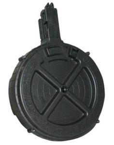 GSG GSGGERMR110TEN2 OEM 22 LR Ruger 10/22 110rd Black Rotary