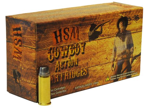 HSM 38551N Cowboy Action 38-55 Win 240 gr Round Nose Flat Point (RNFP) 20 Bx