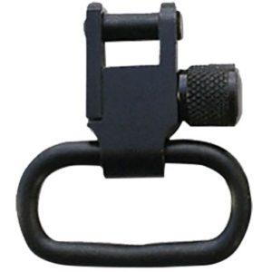 "Grovtec US Inc GTSW02 Locking Swivel Set Rifle 1.25"" Black Oxide Steel"