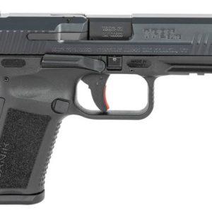 """Canik HG4870N TP9SF Elite 9mm Luger 4.19"""" 10+1 (2) Black Black Nitride Steel"""