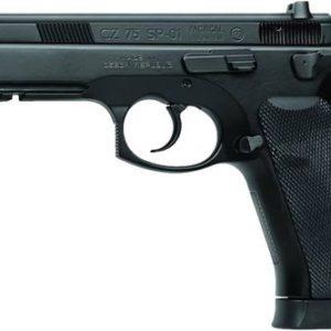 "CZ 75 SP-01 Tactical 9mm Luger 4.60"" 18+1 Black Steel Slide Luminescent Night Sights"